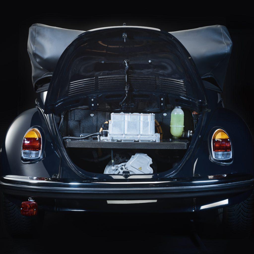 VW Käfer mit Elektroantrieb