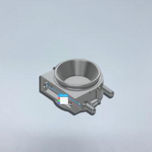 CAD-Modell, 3D-Modell Ersatzteil