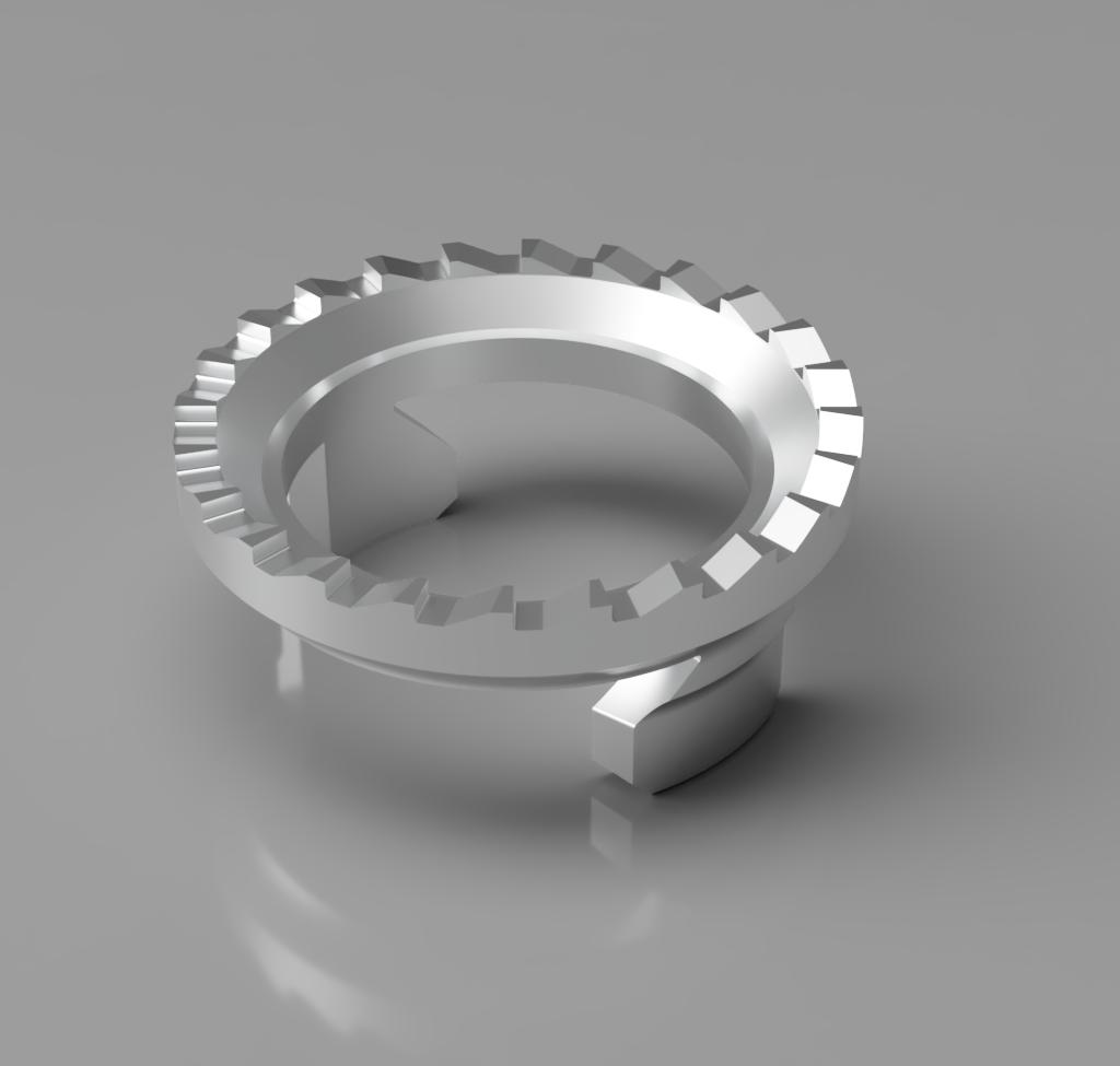3D-Modell Zahnrad